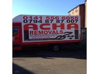 Three man and van,Glasgow to London, deliver house Removals,
