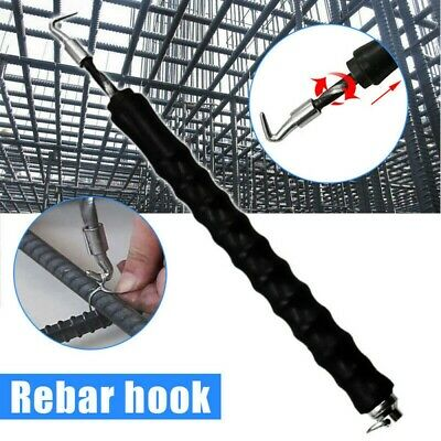 Portable Rebar Hook Tie Wire Twister Automatic Concrete Metal Twisting Fence