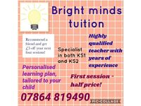 Bright minds tuition - Giving your child the best start in life