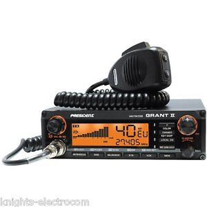 PRESIDENT GRANT II 2  AM FM SSB - NOW IN STOCK - multistandard CB Radio