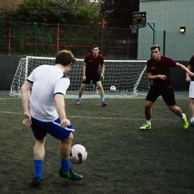 Spaces in Clapham Junction 5-a-side!
