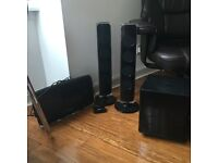 Samsung Surround sound with DVD and IPod dock