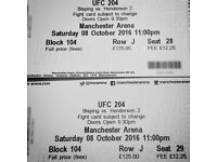 UFC 204 Tickets - Lower tier