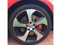 Golf Gti Mk 7 Winter Tyres and Alloys