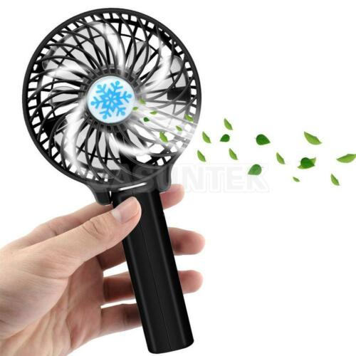 Portable Hand Fan : Foldable hand fans battery operated rechargeable handheld