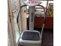 Exercise bike and motive fitness