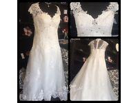Stunning bridal dress size 24