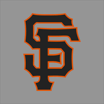 San Francisco Giants #2 MLB Team Logo Vinyl Decal Sticker Car Window Wall