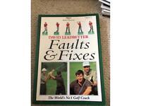 Book- Golf- David Leadbetter- Faults & Fixes