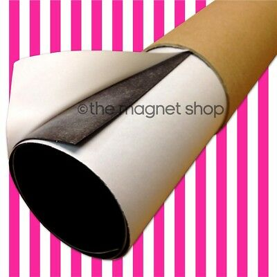 A2 Self Adhesive Flexible Magnetic Sheet Roll 0.85mm Motorway Grade Sticky