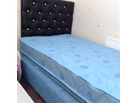 Single trundle bed £50