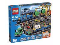 Lego City 60052 Cargo Train New Sealed