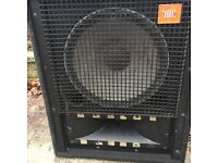 "JBL 16"" bass speakers x2"