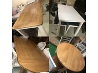 Tables and chairs clearance sale