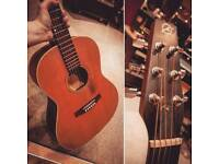 Seagull S6 folk plus acoustic guitar