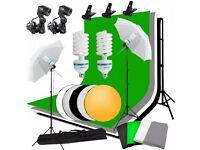 Great Photography Studio Lighting Kit