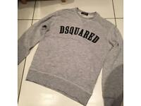 Dsquared grey jumper size 14 years