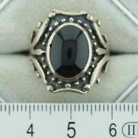 Ring echt Silber 925/000 mit Onix Rheinland-Pfalz - Friedelsheim Vorschau