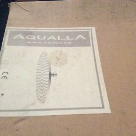 NEW Aqualla Luca 250mm Chrome Shower Head