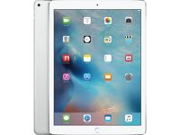 """iPad Pro 12.9"""" Silver 128GB - with Apple Pencil and AppleCare+"""