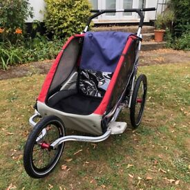 Chariot CX2 double buggy/jogger/bike trailer