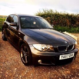 Bmw 1 series msport gunmetal grey with matching alloys