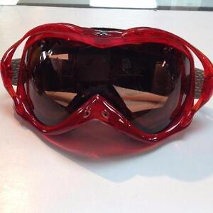 Smith Goggles, Adult Small, Red (sku: 7FFN1G)