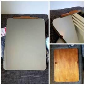 Vintage/Retro Mid Century Mirror - Thick Solid Wood Back - 72cm x 50cm