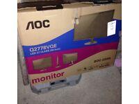 AOC monitor 27 inch