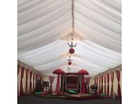 Marquee for hire for all events