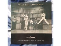 The Who – Who's Better Who's Best Vinyl Record