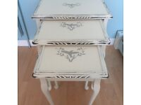 Lovely vintage style nest of tables - reduced price!