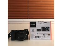 Sony A6000 with 16-50mm lens + bag