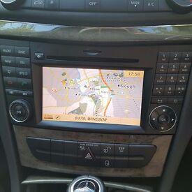 Mercedes NTG2.5 W211 W219 CLS E Classe audio