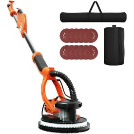 750W Electric Drywall Sander Adjustable Variable Speed w/Sanding Pad ET1382GB