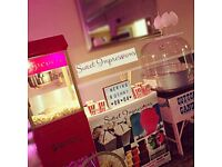 Chocolate Fountain, candy floss, photo booth, Candyfloss, popcorn machine hire, slush, Sweet pic mix