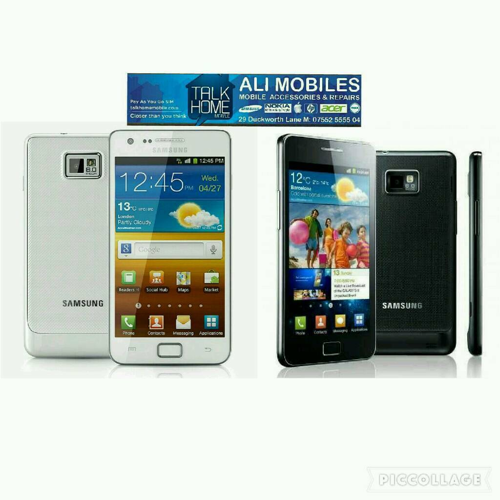 Brand New Orignal Samsung Galaxy S2 Uk Stock GT I9100 16GB White,Black(Unlocked)With Warrantyin Bradford, West YorkshireGumtree - Brand New Orignal Samsung Galaxy S2 Uk Stock GT I9100 16GB White,Black(Unlocked)With Warranty,Receipt,Box,Charger,Earphone And ManualBuy With Peace Of Mind From A Mobile Shop With ReceiptNo Offers No Time Wasters And Just Collection Please£69.99 You...