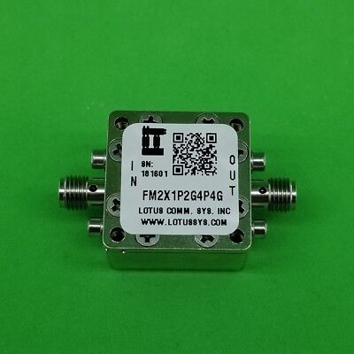 Frequency Multiplier X2 Output 1.2 Ghz To 4.4ghz Fm2x1p2g4p4g
