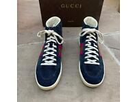 Gucci suede high top trainers size 4