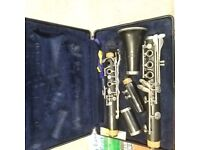 Student Clarinet and music books
