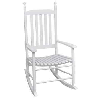 Wooden Indoor Outdoor Porch Patio Rocking Chair Hardwood Fir