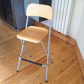 IKea Franklin folding bar stools