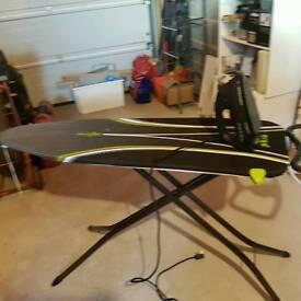 Ergo ironing board and morphy richards 2600 watt steam iron