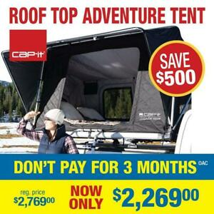 Cap-it Roof Top Tent - Save $500 - All weather Adventure tri-layer tent - Offer valid 31st July 2019