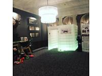 LED Photobooth hire Edinburgh photo booth