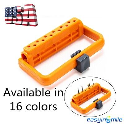 Dental Endo File Holder Adjustable Easyinsmile Organizer Autoclavable 12holes 1x