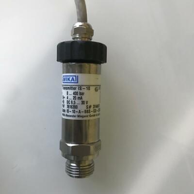 Wika Is-10 Pressure Transmitter 7616300 Is-10-a-bbs-gd-zgdiul-222