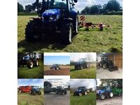 Tractor and man hire