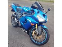 Kawasaki Ninja zx6r c1h 636 2005 zx-6r 05 blue like r6 gsxr cbr