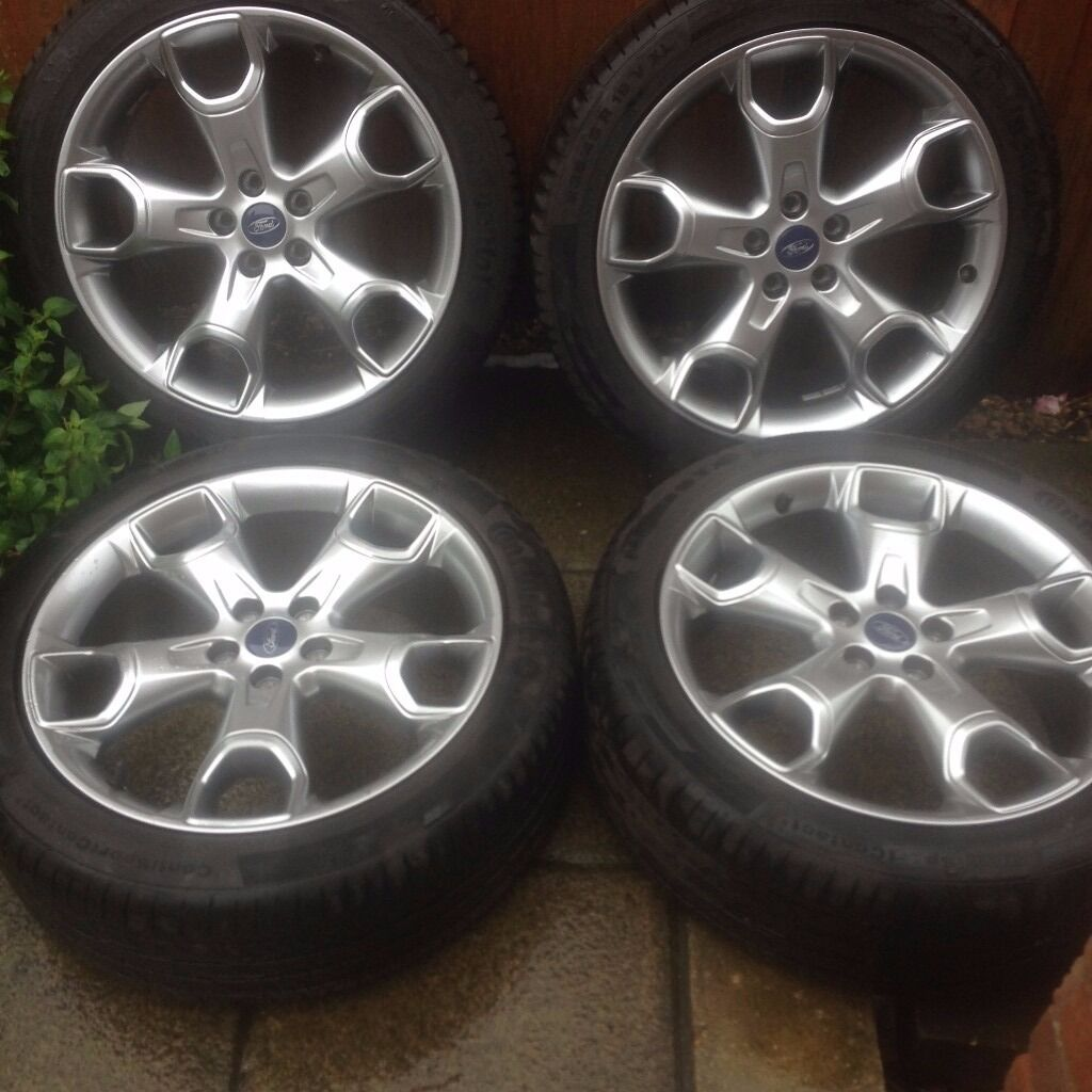 Ford Kuga Alloy Wheels And Tyres